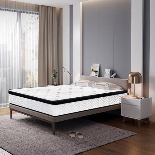 Top Selling economic spring mattress Popular Aisa market Style Euro top Pocket Spring Mattress