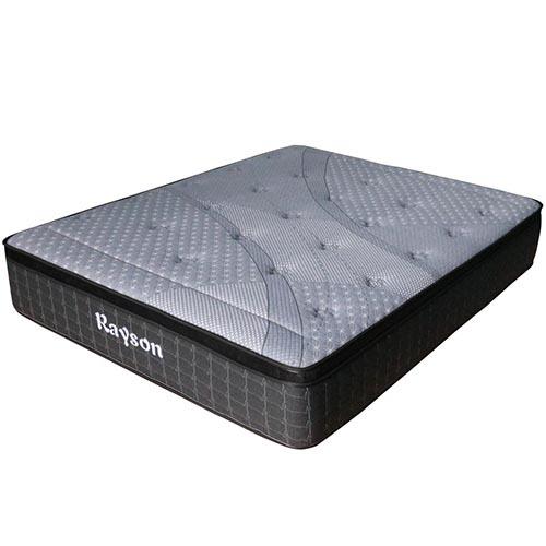 Hot Sale 30.5cm King Size pillow top Latex Pocket Spring mattress