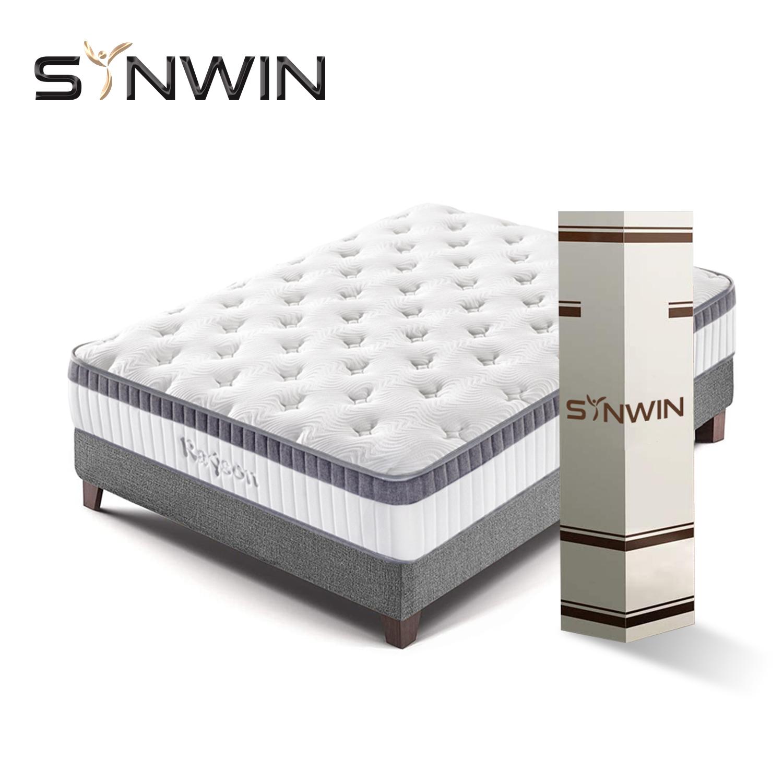 Best Mattress Manufacturer in China Wholesale Comfort 7 zone Pocket Spring Mattress colchon