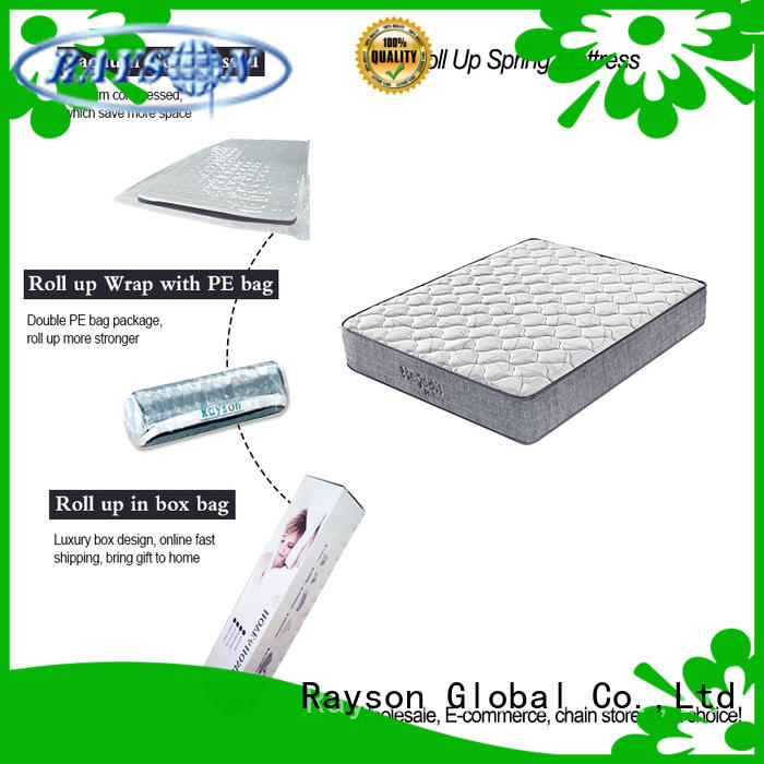 king size roll up bed mattress latex tight for wholesale