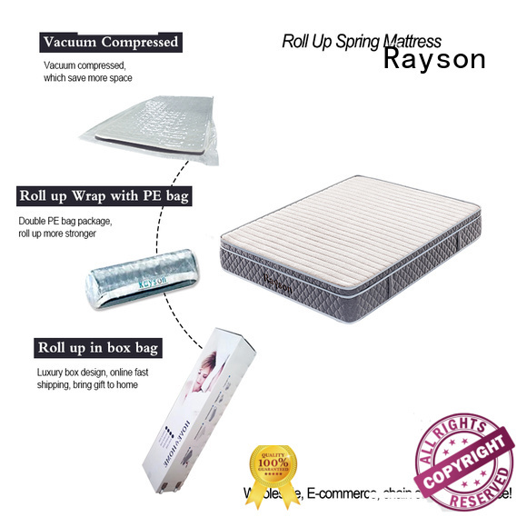 Synwin latex mattress rolled up in a box tight for wholesale
