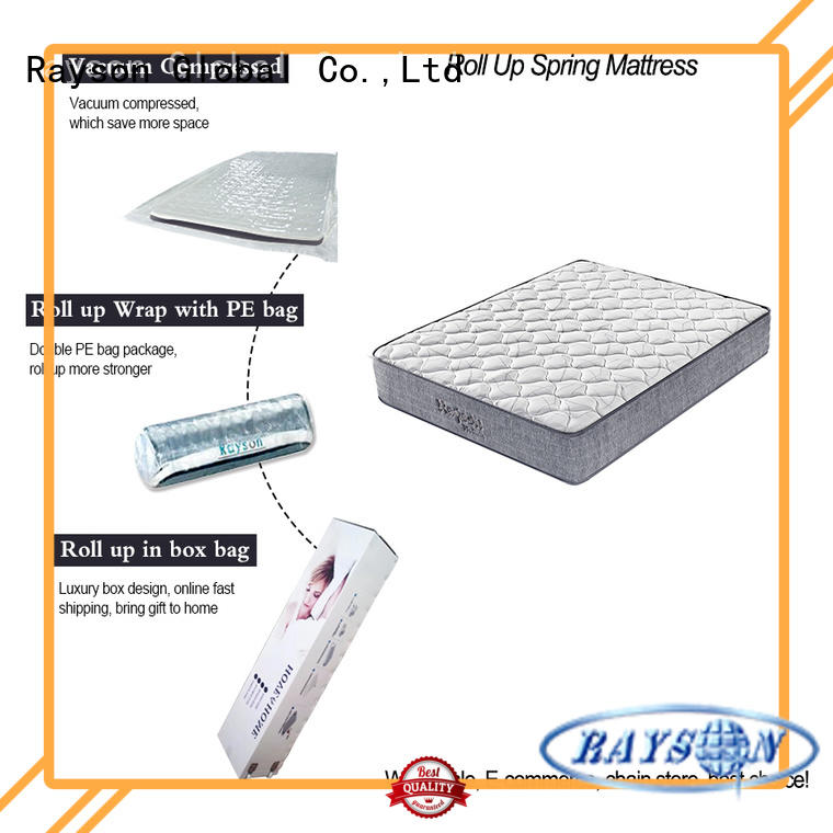 vacuum packed memory foam mattress customized top for wholesale