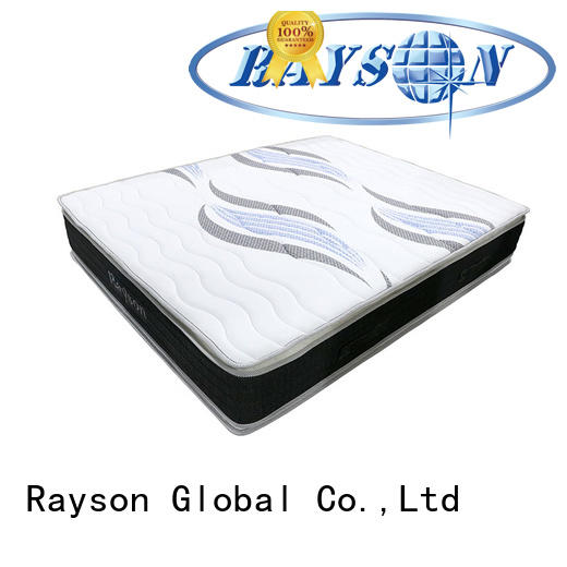 Rayson chic design pocket spring mattress double knitted fabric at discount