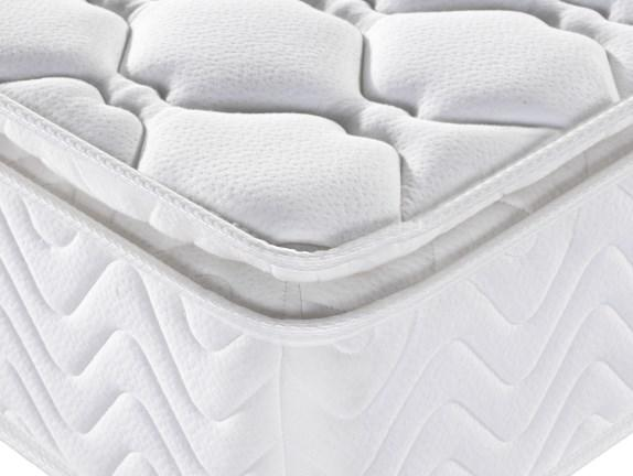 Rayson luxury pocket sprung mattress king knitted fabric light-weight-3