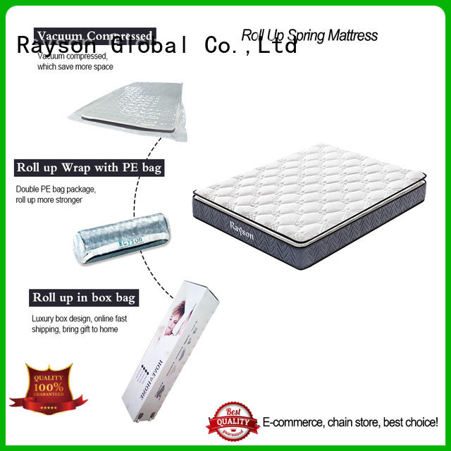 Synwin luxury roll out mattress at discount with spring