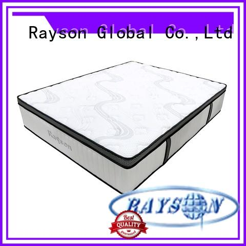 customized pocket spring mattress double king size low-price light-weight