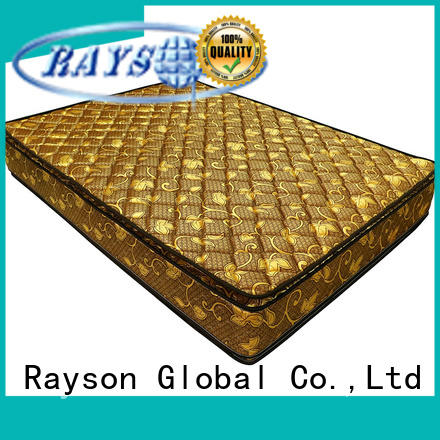 double side coil spring mattress continuous compressed for star hotel