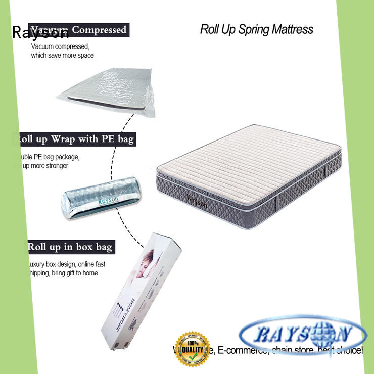 Synwin king size rolled foam mattress vacuum compressed for customization