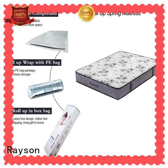 latex mattress rolled up in a box top for customization Rayson