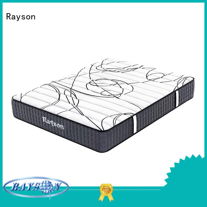 Rayson customized pocket mattress knitted fabric at discount