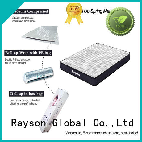 Synwin 21cm height roll out mattress at discount with pillow
