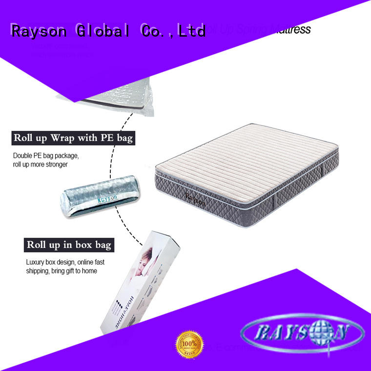 Rayson coil box rolled foam mattress tight at discount