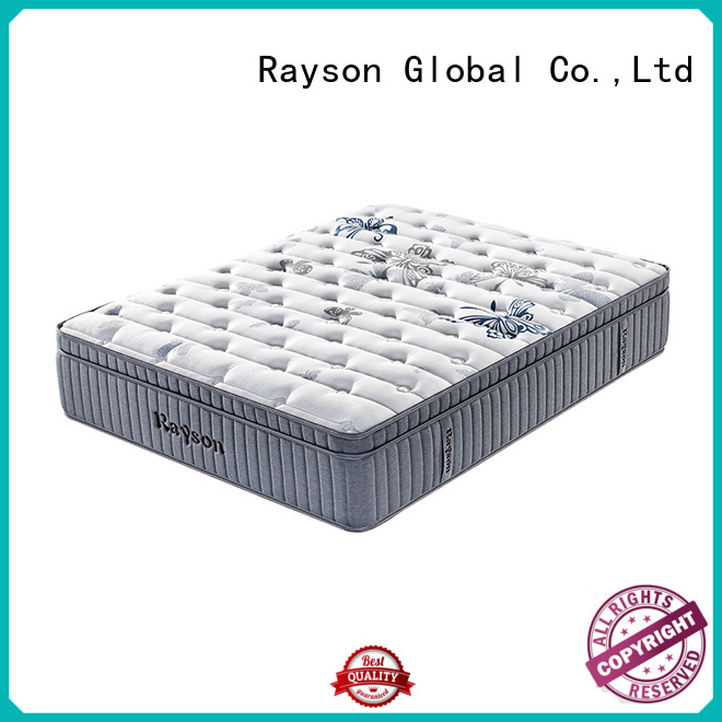 chic design pocket spring mattress double knitted fabric at discount