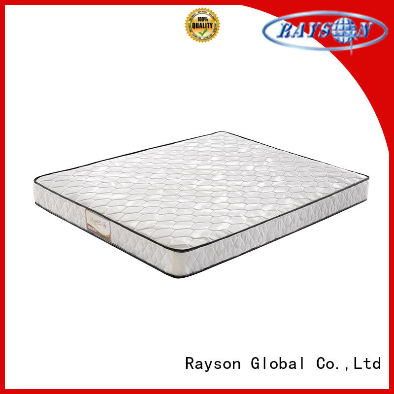 Rayson luxury bonnell mattress 12 years experience firm for star hotel