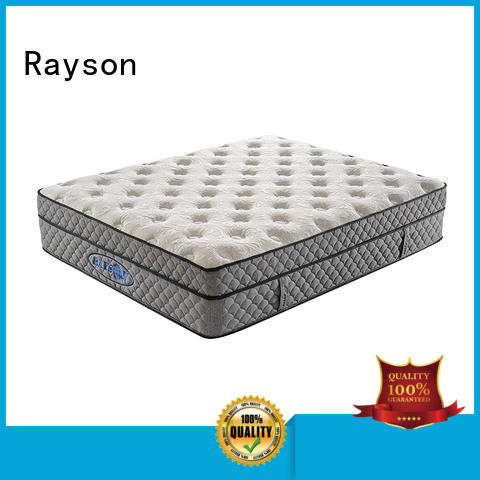 customized tufted bonnell spring and memory foam mattress 12 years experience firm with coil Rayson