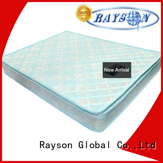 popular coil sprung mattress luxury compressed for star hotel