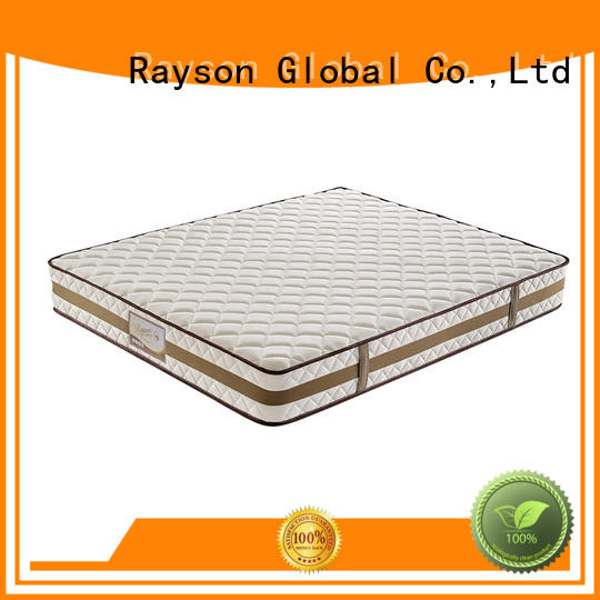 Rayson high-quality pocket spring mattress double wholesale light-weight