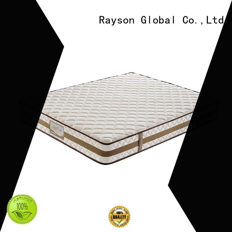 customized pocket spring mattress double luxury knitted fabric high density