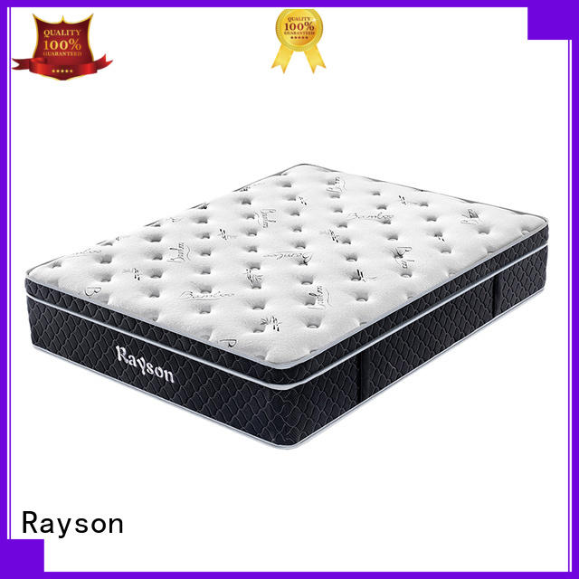 bonnell luxury Rayson Brand top rated hotel mattresses factory