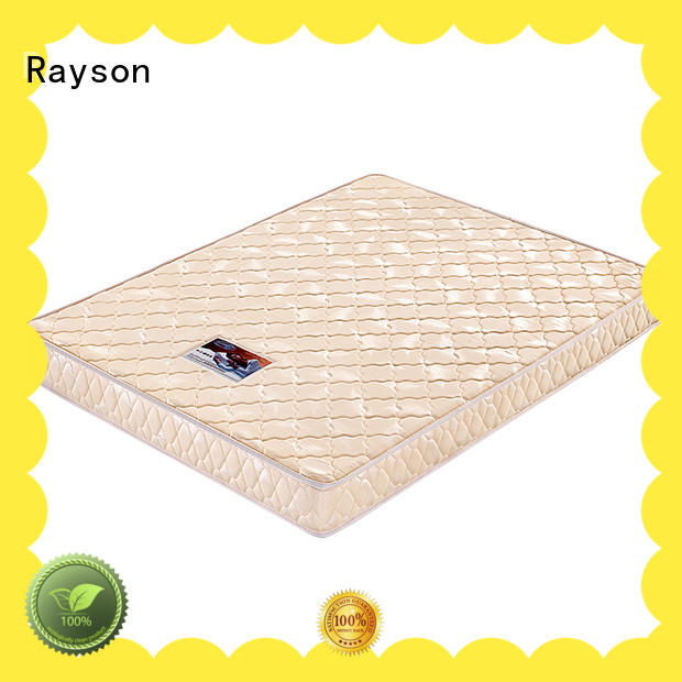 Rayson high-end queen foam mattress comfortable roll up design