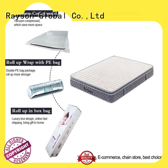 euro vacuum packed memory foam mattress vacuum compressed for customization