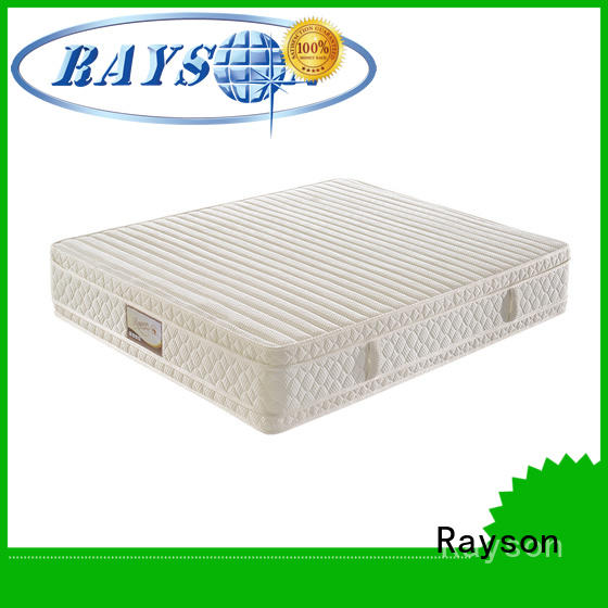 Rayson high-quality memory foam and pocket spring mattress chic design at discount
