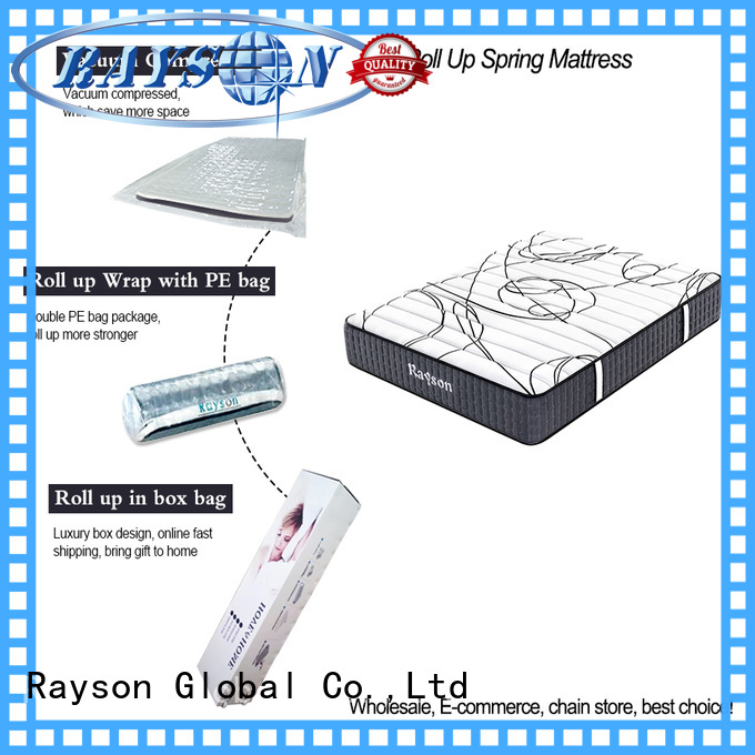 Synwin 25cm height rolled mattress in a box vacuum compressed for customization