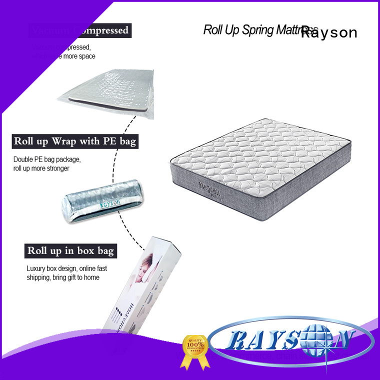 top size spring roll rolled foam spring mattress Synwin