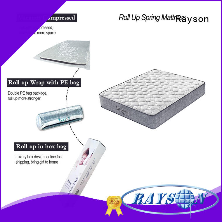top size spring roll rolled foam spring mattress Rayson