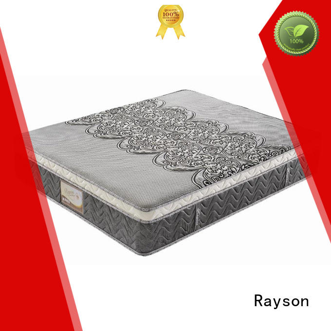 foam top Rayson Brand luxury hotel collection mattress factory