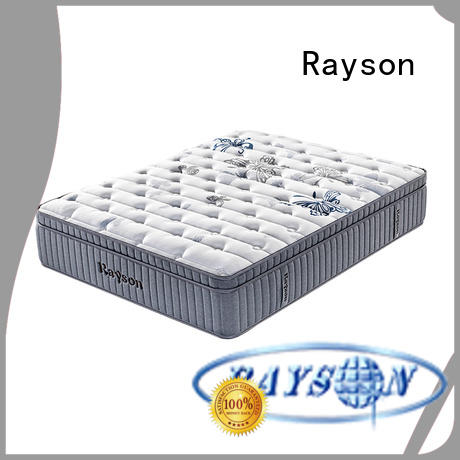 customized pocket spring mattress king size luxury knitted fabric high density