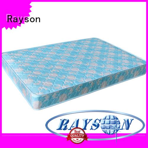 Popular pattern 19cm wholesale continuous spring mattress