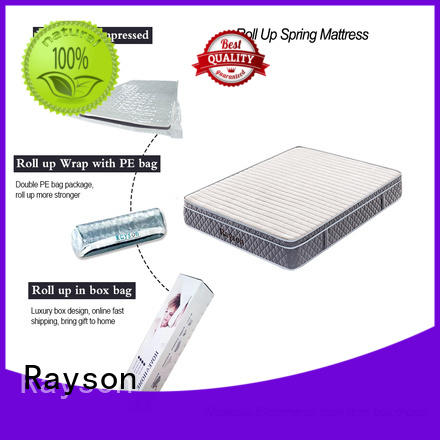 roll available full roll up mattress queen Rayson manufacture