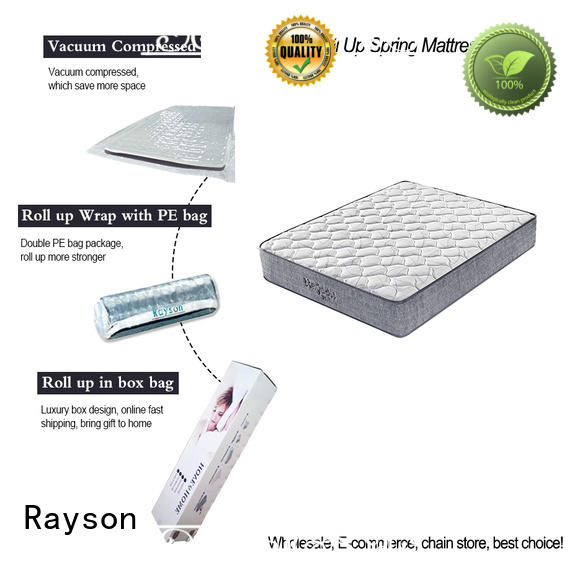 rolled vacuum packed memory foam mattress on-sale Rayson