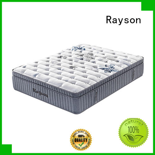 Rayson high-quality pocket memory mattress chic design light-weight