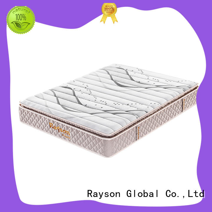Rayson available single pocket sprung mattress chic design light-weight