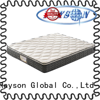 luxury pillow top roll up bonnell coil mattress in box