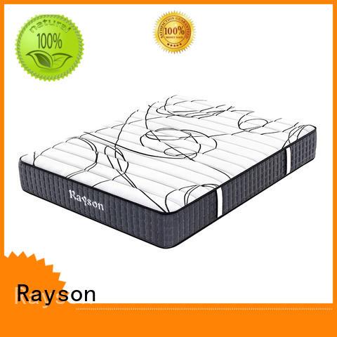 pocket sprung memory foam mattress top euro sale Rayson Brand company