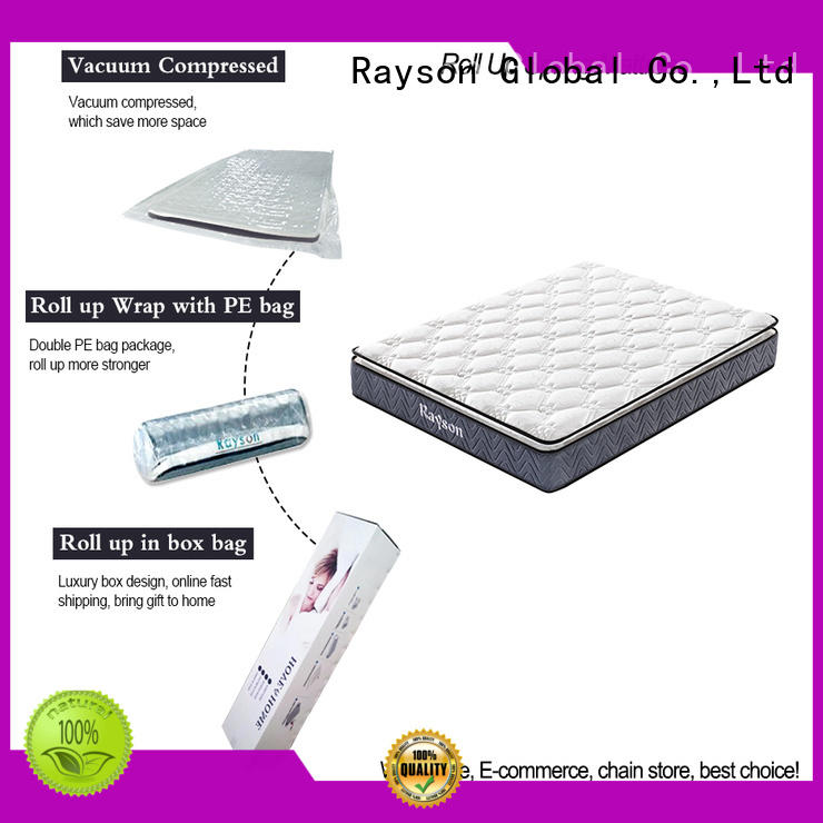 Synwin knitted fabric roll up foam mattress reliable with spring