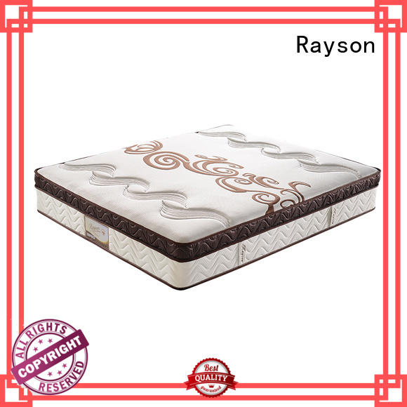 Rayson available pocket mattress wholesale high density