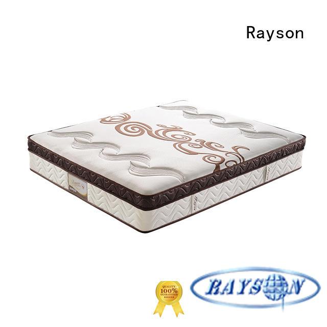 customized pocket memory mattress chic design knitted fabric light-weight