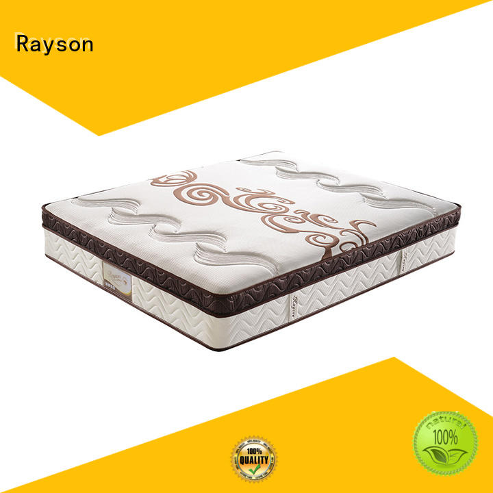 Rayson king size pocket sprung memory mattress low-price high density