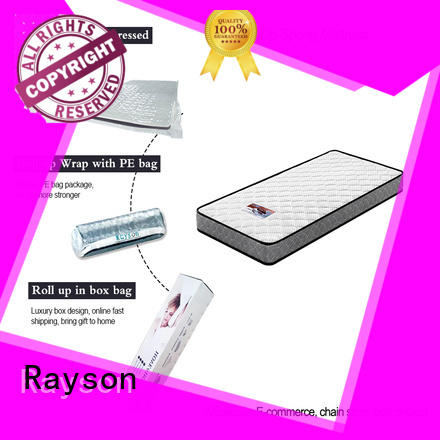 single bonnell size rolled mattress box Rayson Brand