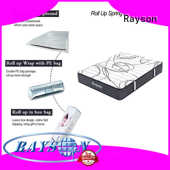 latex rolled memory foam mattress top