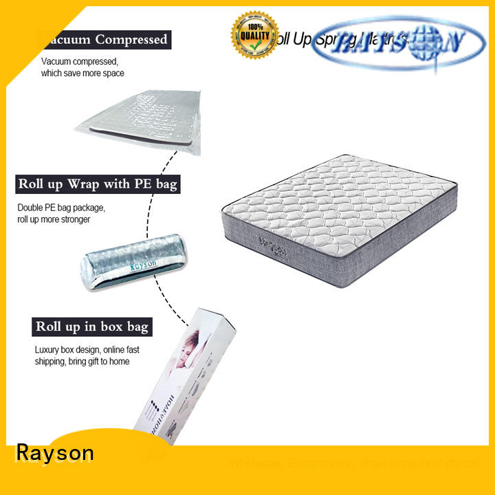 Rayson 25cm height rolled foam mattress tight