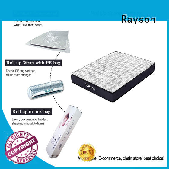 Rayson hot-sale roll up foam mattress best sleep experience with spring