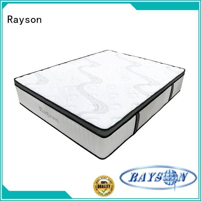 Rayson high-quality best pocket spring mattress wholesale at discount