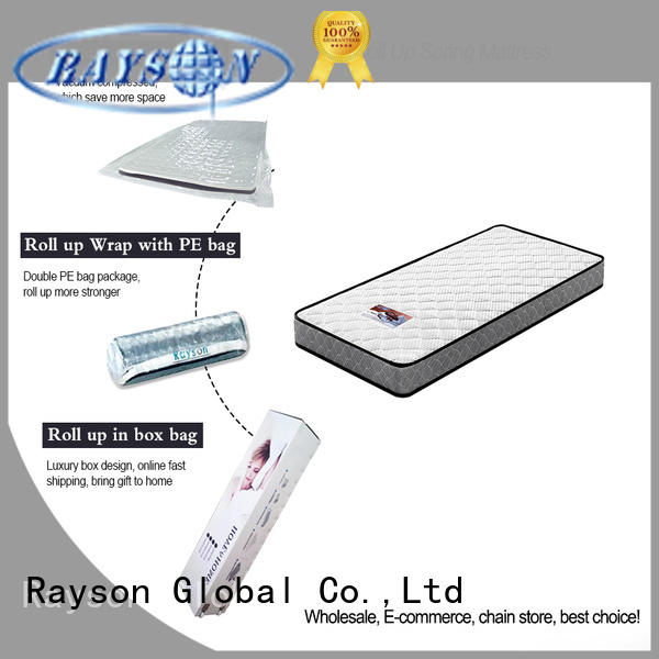 Rayson custom roll out memory foam mattress high-end light-weight