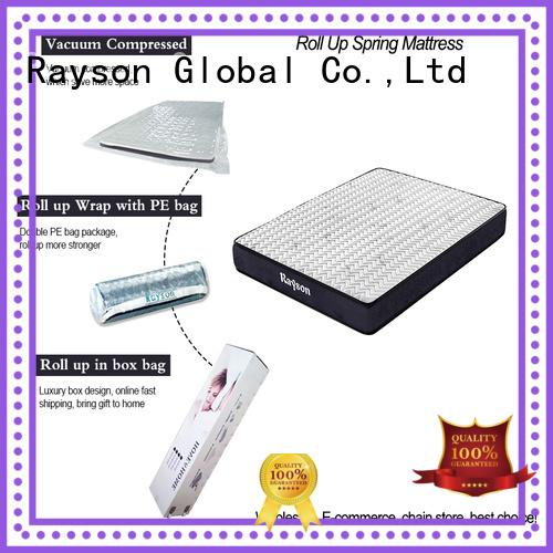 Custom pillow top roll up mattress Synwin roll