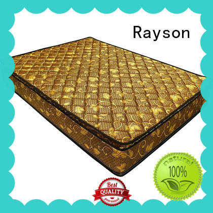 Rayson double side spring and memory foam mattress tight high-quality